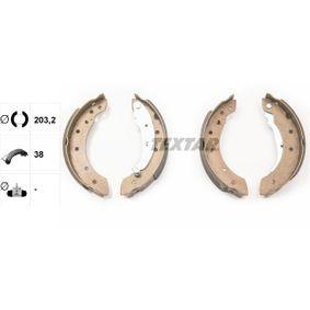 Bremsbackensatz Breite: 38mm mit OEM-Nummer 77 01 205 720