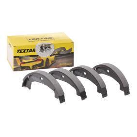 Brake Shoe Set, parking brake Ø: 160,5mm, Width: 20mm, Ø: 160,5mm with OEM Number 34 41 6 761 291