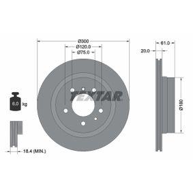 Bremsscheibe Bremsscheibendicke: 20mm, Ø: 300mm mit OEM-Nummer 3421 1 159 659