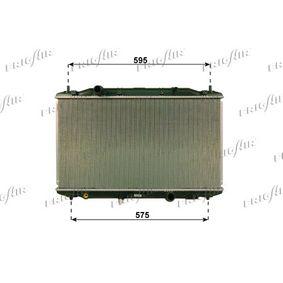 hűtő, motorhűtés 375 x 670 x 27 mm, Alumínium, Műanyag 0119.3031