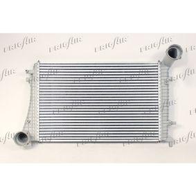 Ladeluftkühler für VW TOURAN (1T1, 1T2) 1.9 TDI 105 PS ab Baujahr 08.2003 FRIGAIR Ladeluftkühler (0710.3109) für