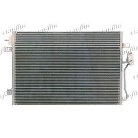 Kondensator, Klimaanlage Netzmaße: 645 x 460 x 16 mm, Kältemittel: R 134a mit OEM-Nummer 68038244AA