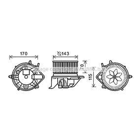 Elektromotor, Innenraumgebläse mit OEM-Nummer 3 422 644