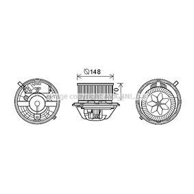 BMW E91 320d Innenraumgebläse PRASCO BW8462 (320d ed Diesel 2004 N47 D20 C)