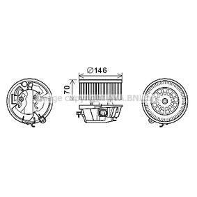 PRASCO Elektromotor, Innenraumgebläse CN8296 für CITROËN XSARA PICASSO (N68) 1.8 16V ab Baujahr 02.2000, 115 PS