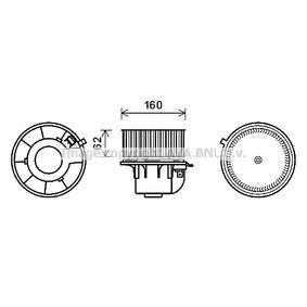 Elektromotor, Innenraumgebläse mit OEM-Nummer 1027753