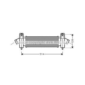 Ladeluftkühler FDA4341 MONDEO 3 Kombi (BWY) 2.0 TDCi Bj 2005