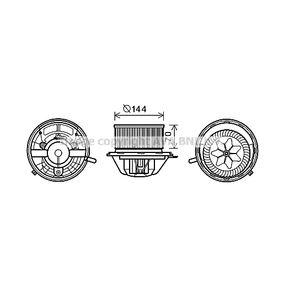 Elektromotor, Innenraumgebläse mit OEM-Nummer 1698200642