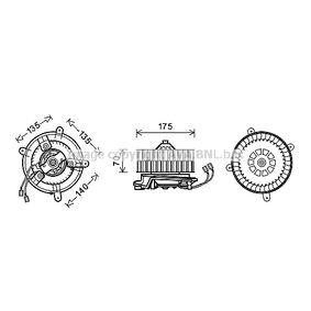 Elektromotor, Innenraumgebläse mit OEM-Nummer 2108200242