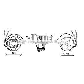 Elektromotor, Innenraumgebläse mit OEM-Nummer 1 845 142