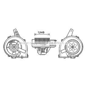 Elektromotor, Innenraumgebläse mit OEM-Nummer 6Q1820015C