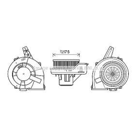 Elektromotor, Innenraumgebläse mit OEM-Nummer 6Q1 819 015 B