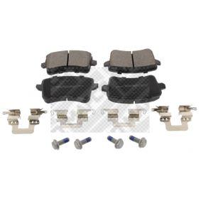 Bremsbelagsatz, Scheibenbremse Breite: 116,5mm, Höhe: 58,6mm, Dicke/Stärke: 18mm mit OEM-Nummer 8K0 698 451 D