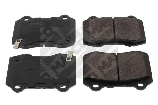 MAPCO  6941 Bremsbelagsatz, Scheibenbremse Breite: 109,6mm, Höhe: 69,2mm, Dicke/Stärke: 14,8mm