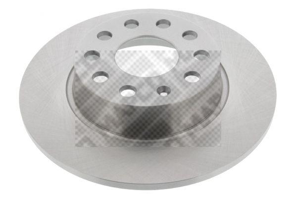 MAPCO  45837 Bremsscheibe Bremsscheibendicke: 10mm, Lochanzahl: 5, Ø: 272mm