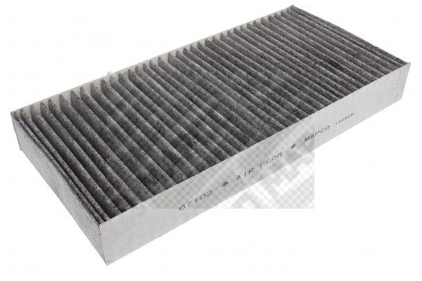 MAPCO  67102 Filter, Innenraumluft Länge: 375mm, Breite: 175mm, Höhe: 45mm