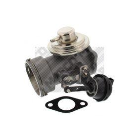 MAPCO AGR-Ventil 83809 für AUDI A4 (8E2, B6) 1.9 TDI ab Baujahr 11.2000, 130 PS