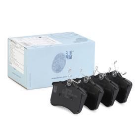 Bremsbelagsatz, Scheibenbremse Breite: 52,9mm, Dicke/Stärke 1: 16,8mm mit OEM-Nummer 8E0-698-451-B