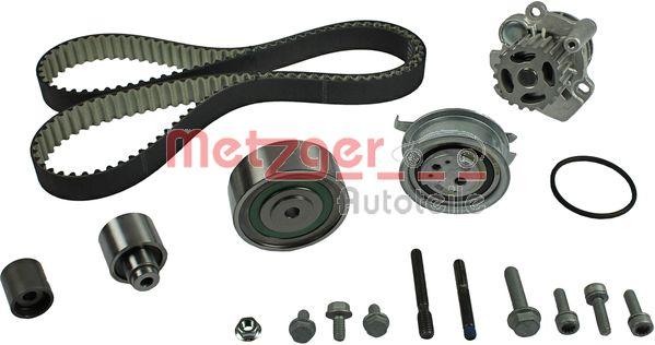 Water Pump + Timing Belt Kit METZGER WM-Z 953WP rating