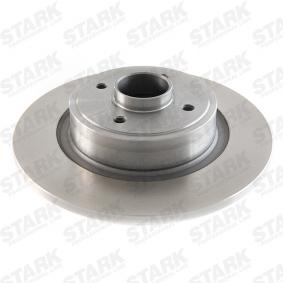 Bremsscheibe Bremsscheibendicke: 11mm, Felge: 4-loch, Ø: 274mm mit OEM-Nummer 7701 206 327