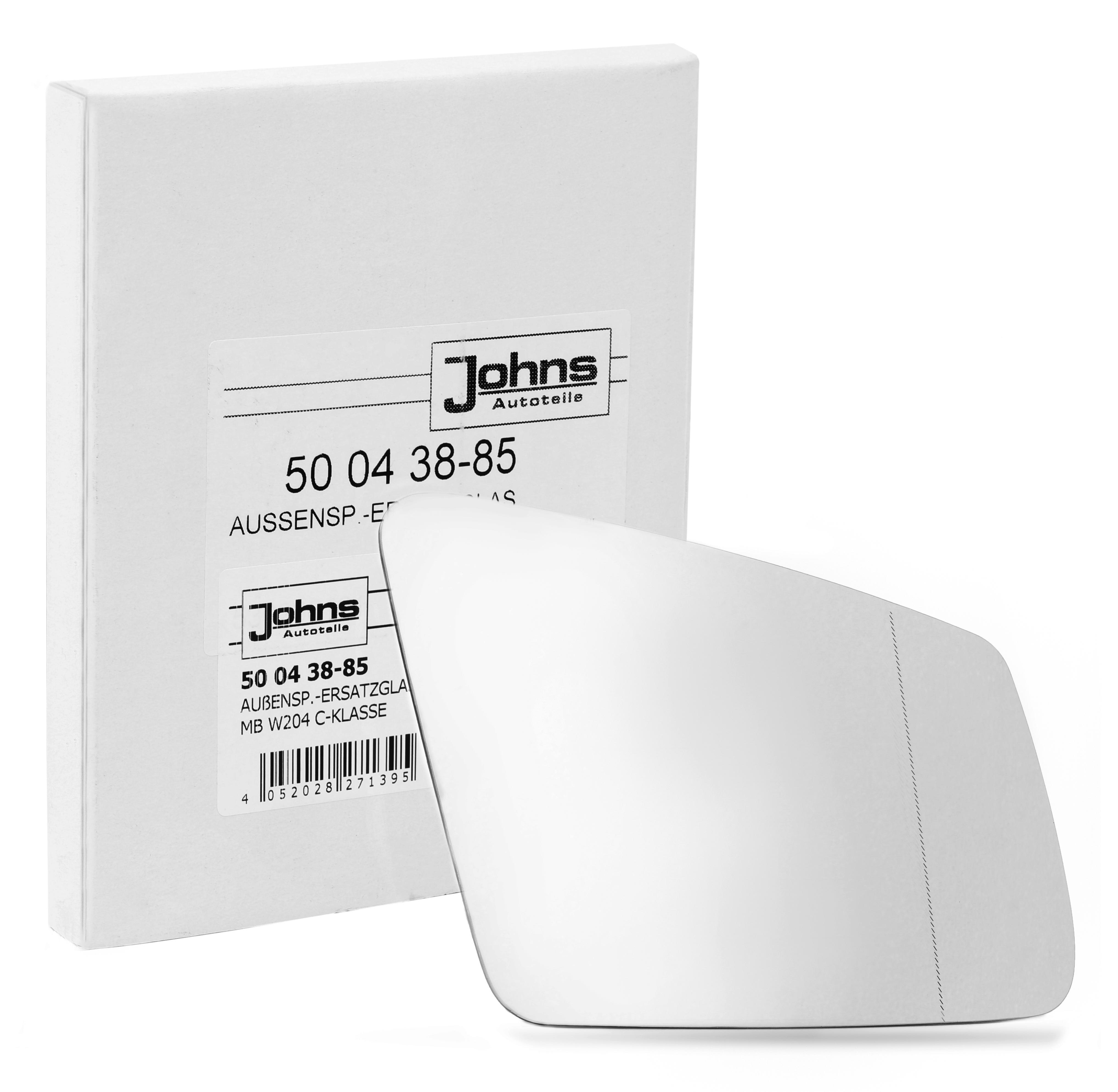 Außenspiegelglas 50 04 38-85 JOHNS 50 04 38-85 in Original Qualität