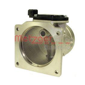 METZGER Luftmassenmesser 0890302 für AUDI 80 (8C, B4) 2.8 quattro ab Baujahr 09.1991, 174 PS