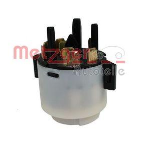 METZGER Zünd-/Startschalter 0916240 für AUDI A4 (8E2, B6) 1.9 TDI ab Baujahr 11.2000, 130 PS