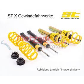 Schraubfahrwerkssatz VW PASSAT Variant (3B6) 1.9 TDI 130 PS ab 11.2000 METZGER Fahrwerkssatz, Federn/Dämpfer (113280011) für