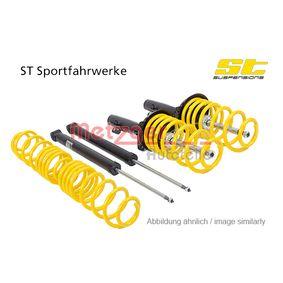 Suspension Kit, coil springs / shock absorbers 123240009 PUNTO (188) 1.2 16V 80 MY 2002