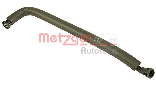 Schlauch, Kurbelgehäuseentlüftung 2380001 METZGER 2380001 in Original Qualität