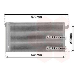 Condenser, air conditioning 17005406 PANDA (169) 1.2 MY 2016