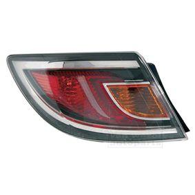 Lampy Tylne Zespolone Led W21w Led Dla Mazda 6 Hatchback