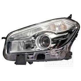 2007 Nissan Qashqai j10 1.6 Headlight 3389961