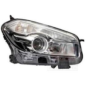 2012 Nissan Qashqai j10 1.6 Headlight 3389962