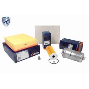 Filter-Satz VW PASSAT Variant (3B6) 1.9 TDI 130 PS ab 11.2000 VAICO Teilesatz, Inspektion (V10-3159) für
