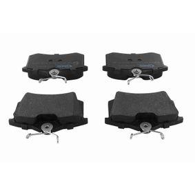 VAICO Bremsbelagsatz, Scheibenbremse V10-8178-1 für AUDI A3 (8P1) 1.9 TDI ab Baujahr 05.2003, 105 PS
