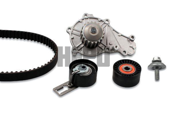 HEPU  PK08031 Water pump and timing belt kit Width: 25,4mm