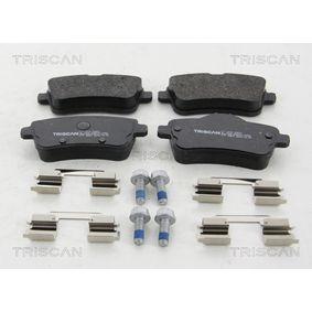 Bremsbelagsatz, Scheibenbremse Breite: 116,2mm, Höhe: 59,8mm, Dicke/Stärke: 18,8mm mit OEM-Nummer A006 420 3420