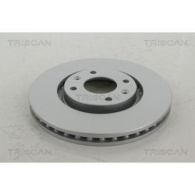 Bremsscheibe Bremsscheibendicke: 26mm, Lochanzahl: 4, Ø: 283mm mit OEM-Nummer 4246 W2