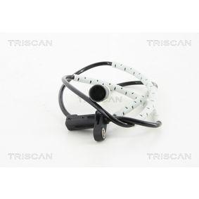 Sensor, Raddrehzahl Pol-Anzahl: 2-polig mit OEM-Nummer 3452 6 870 076
