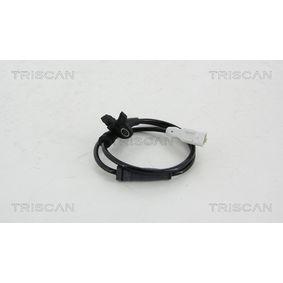 TRISCAN Sensor, Raddrehzahl 8180 28105 für PEUGEOT 307 SW (3H) 2.0 16V ab Baujahr 03.2005, 140 PS