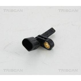 Sensor, Raddrehzahl Pol-Anzahl: 2-polig mit OEM-Nummer 7H0 927 803