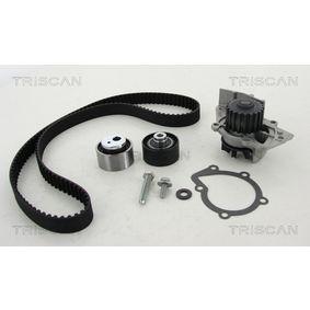 TRISCAN  8647 280015 Wasserpumpe + Zahnriemensatz