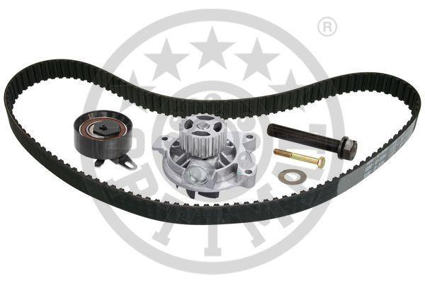 OPTIMAL  SK-1725AQ1 Water pump and timing belt kit Width: 26,5mm