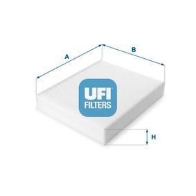 Filter, Innenraumluft Länge: 247,0mm, Breite: 199,0mm, Höhe: 40,0mm mit OEM-Nummer 64 11 9 237 554