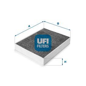 Filter, Innenraumluft Länge: 247,0mm, Breite: 199,0mm, Höhe: 40,0mm mit OEM-Nummer 6411 6 821 995