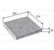 OEM Filter, Innenraumluft VALEO 7665327 für FORD