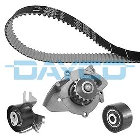 Water pump and timing belt kit with OEM Number 9M5Q8B596AA
