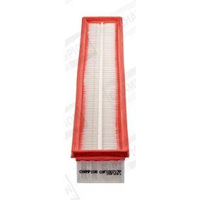 Luftfilter Länge: 520mm, Breite: 86mm, Breite 1: 76mm, Breite 2: 72mm, Höhe: 55mm, Länge: 510mm mit OEM-Nummer 111 094 0304