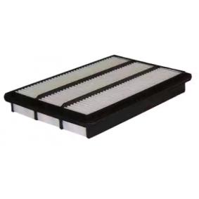 Filtro de aire Long.: 362mm, Ancho: 236mm, Altura: 52mm, Altura 1: 48mm con OEM número MR 404847